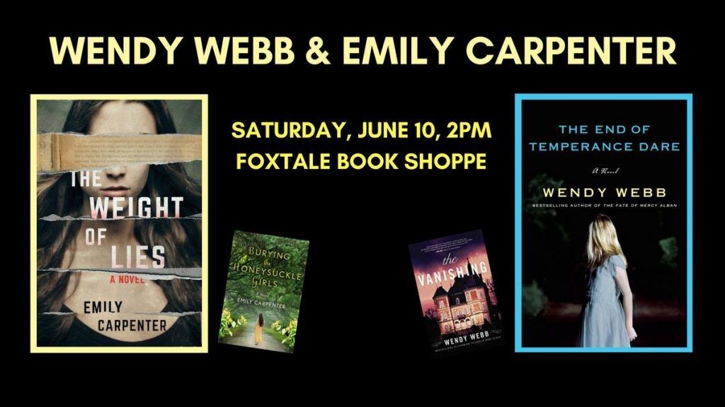 Emily Carpenter at the FoxTale Book Shoppe