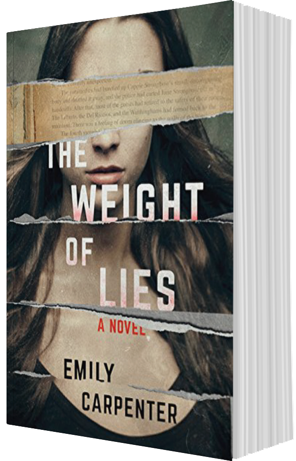 The Weight of Lies, by author Emily Carpenter