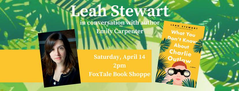 In Conversation with Leah Stewart at Foxtale Books